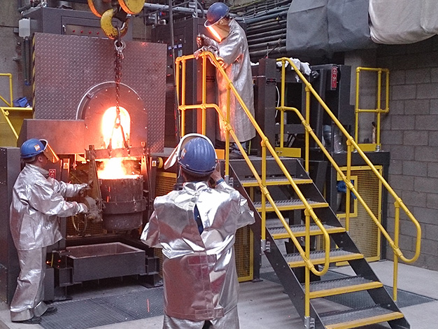Development strategy increases business for the UK's leader in rebuilt induction furnaces